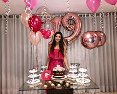 Trends for party decoration so take out paper and pen and take note of the options that you like we will see: decoration images of - New Deko Sites Birthday Goals, 18th Birthday Party, Birthday Presents, Birthday Party Decorations For Adults, Balloon Pictures, Birthday Pictures, Birthday Balloons, Holidays And Events, Harry Potter