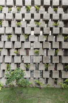 Concrete Blocks in Architecture: How to Build With This Modular and Low-Cost Material,Casa entre Bloques / Natura Futura Arquitectura.
