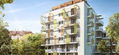 Neudorf :   Situés à Strasbourg Neudorf, quartier calme et résidentiel, ces appartements du studio au 4 pièces avec terrasse ou balcon aux volumes étudiés sauront vous séduire !   Référence: Les Chromalines VI801   #Neudorf #Strasbourg #IGPIMMOBILIER