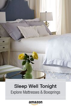 Sleeping never felt so good. Explore bedding options to help you rest easy.