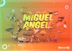 MY CHILDREN by Miguel Bencomo, via Behance