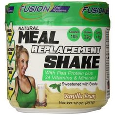 Enjoy Fusion Diet Systems Meal Replacement Shake – Vanilla Bean – 12 oz every day at these amazing prices! Available in two delicious flavors, Creamy Chocolate and Vanilla Bean, our nutritious Meal Replacement Shakes are perfect for anyone on-the-go! Using only the highest quality ingredients in our proprietary blend, these healthy meal replacement shakes not only taste great, but they are all natural, contain no artificial flavors, colors or sweeteners, are lactose free, gluten free, sugar…