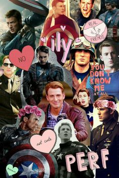 Captain America Collage