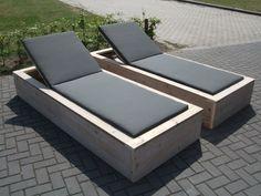 Afbeeldingsresultaat voor houten ligbed zelf maken