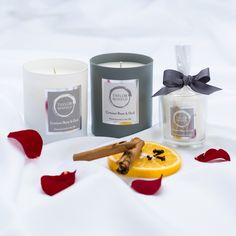 Our luxury scented Crimson Rose & Oud candle collection Scented Candles, Candle Jars, Home Candles, Burning Candle, Fragrance, Luxury, Rose, Glass, Sweet