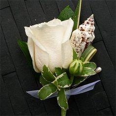 Flor para la solapa de los hombres