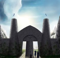 The Gates of Gondolin Part II, The Gate Of Stone by danthalion on deviantart