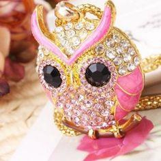 Pozlacený dámský náhrdelník se sovou růžový + POŠTOVNÉ ZDARMA Na tento produkt se vztahuje nejen zajímavá sleva, ale také poštovné zdarma! Využij této výhodné nabídky a ušetři na poštovném, stejně jako to udělalo již velké …