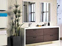 Kaisla - ruskea. House, Single Vanity, Home, New Homes, Bathroom Vanity, Bathroom, Faucet, Bathroom Design