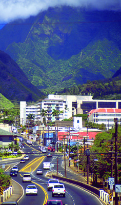 Wailuku Town of Central Maui. Great place I'd like to live here one day.
