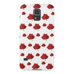 Red Roses Galaxy S5 Covers