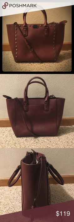 ef2ffca94aa0 Michael Kors Handbag! Michael Kors saffiano leather handbag! 2 handles and  1 long adjustable