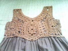 Vintage Crochet Yoke by leanna.lyons