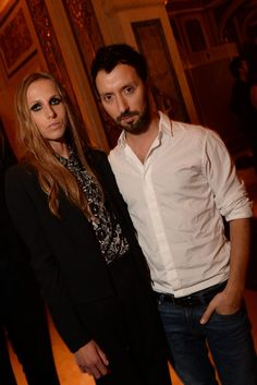 Allegra Versace and Anthony Vaccarello  Harper's Bazaar Celebrates Icons