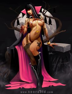 Vampirella by SourAcid.deviantart.com on @deviantART