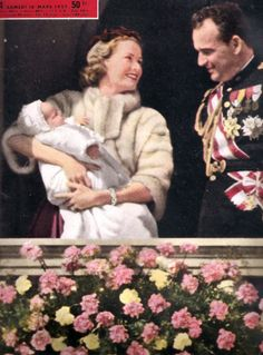 "dosesofgrace:  ""  Princess Caroline's Christening, 1957.  """