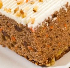 ... Carrot Cake with Orange Cream Cheese Frosting Recipe | Diet Plan 101