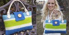 Crochet Felted by Fulling Bag by Donna Wolfe from Naztazia