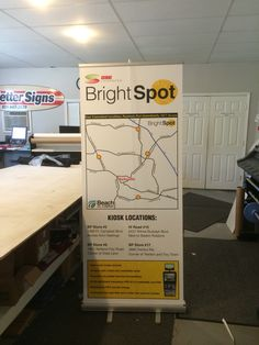Retractable banner for CDE Lightband. I did the design, printed it, and assembled the stand.