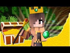 LOOK WHAT I FOUND! | Minecraft Adventures - Treasure Island #2 w/ ItsFunneh (Minecraft Roleplay) - YouTube