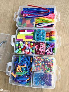 Konkretkoffert er en perfekt måte å organisere og ha oversikt over konkretene sine på. Ta en titt på min boks for litt tips og inspirasjon! #malimo #malimoskole Sprinkles, Candy, Sweets, Candy Bars, Chocolates