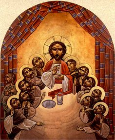 Our Orthodox Life: Acts 29 - Eucharist (Part - Last Supper Religious Images, Religious Icons, Religious Art, Black Jesus, Christian Artwork, Spiritus, Biblical Art, Last Supper, Holy Week