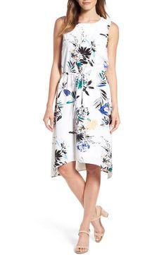 Halogen® Stretch Knit Dress (Regular & Petite)