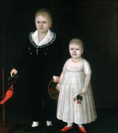 Edward And Sarah Rutter :: Joshua Johnson
