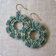 diy macrame earrings - Google zoeken