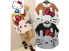 Get these Hello Kitty shirts only on Rakuten Global Market!