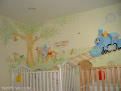 baby rooms full twins nursery train muralg mural room wall murals for boys amp girls