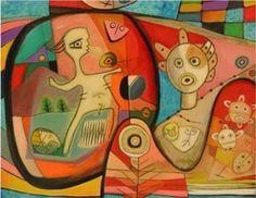 ancestral kaliedescope  Plastic Art    In Jose Caraballo gallery