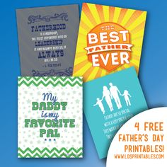 """Father's Day Printables--LOVE this """"LDS Printables"""" site"""