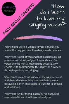 Vocal Lessons, Singing Lessons, Singing Tips, Music Lessons, Music Math, Music Writing, Music And The Brain, Sound Of Music, Singing Coach