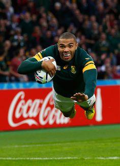 RWC2015 Brilliant Bryan Habana scores again for South Africa