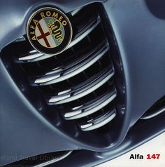 Alfa Romeo 147, 2000, 2001_1, car brochures Alfa Romeo 147, Car Brochure, Volkswagen Logo, World Traveler, Brochures, Automobile, Naturally Curly, Curly Bob, Cars