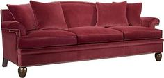 Magnificent! Atheneum Sofa with Nailed Arm and Turned Legs