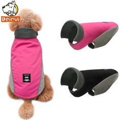 Warm Reflective Dogs Clothes Winter Dog Coats Vest Jackets Small Meidum Dog Pet Clothing Costume Apparel for Pitbulls Yorkshire