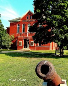 The Accomack County Courthouse has valuable historical and genealogical records.