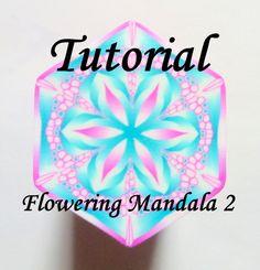 TUTORIAL - Flowering Mandala 2 - Polymer Clay Cane Tutorial