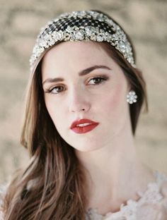 D (2014 Wedding Bridal Headpieces/Handband/Fascinator)