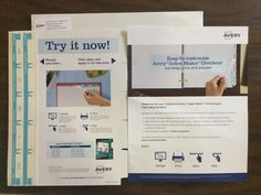 Free Avery Index Maker Dividers Sample #freestuff #freebies #samples #free