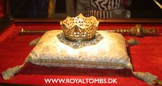 The crown and the sceptre of Queen Isabella I the Catholic of Castile are kept in the Royal Chapel (Capilla Real) in Granada.