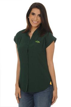 ce43d39e574 Button Down Shirt - Ladies by UG Apparel Bears, Michigan State Spartans, Ndsu  Bison