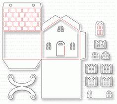 Papertrey Ink - Tiny Town: Basics Die