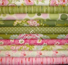 Nicey Jane by Heather Bailey, KISSING BOOTH 2, 10 Half Yard Bundle Quilt Fabric, $45 (+ 12 shipping to Canada)