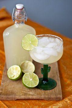 DIY Margarita Mix