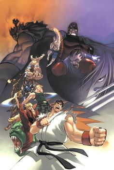Street Fighter 0 Cover by #UdonCrew on deviantART