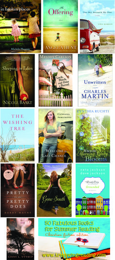 Fabulous summer reads! Contemporary fiction