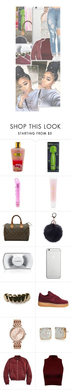 """"""" niggα run up on me wrong , its gon' be α bαng out """" by loyalty-x0 ❤ liked on Polyvore featuring Victoria's Secret, Lancôme, Louis Vuitton, MAC Cosmetics, Native Union, NIKE, Michael Kors, Kate Spade, Topshop and WearAll"""